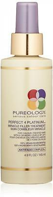 Pureology Perfect 4 Platinum Miracle Filler Treatment, 4.9 Fl Oz
