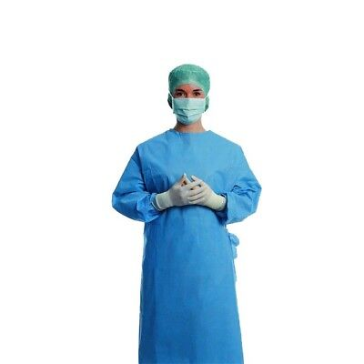 3M Reinforced Disposable Surgical Gown Medical Home Cleaning Fancy Dress M L XL