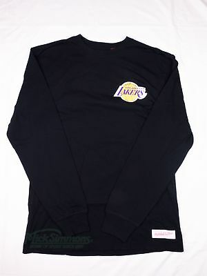 Los Angeles Lakers NBA Triple Double Long Sleeve T-Shirt by Mitchell & Ness