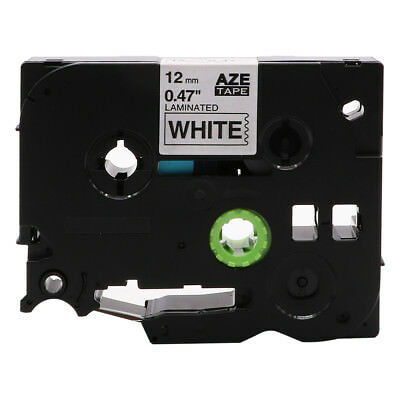 Black on White Label Tape Compatible for Brother TZe 231 P-Touch TZE531 TZE131