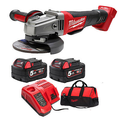 Milwaukee 18V Fuel M18 GENII Cordless Brushless Angle Grinder Combo Kit AU STOCK