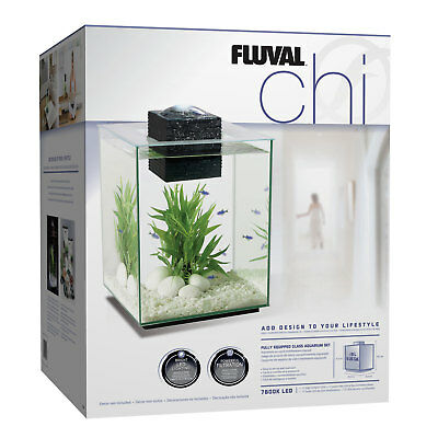 Fluval Chi 19L Glass Aquarium Fish Tank