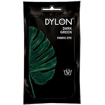 DYLON Permanant Fabric Dye Hand Dye - DARK GREEN - 50 gram