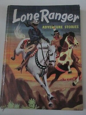 Lone Ranger Adventure Stories Annual1957