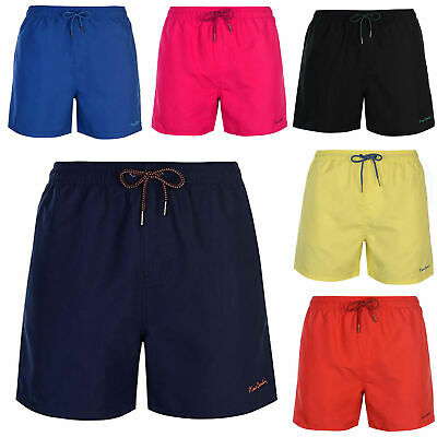 16e9c933d504 PIERRE CARDIN MENS Summer Swim Shorts with Signature Embroidery ...