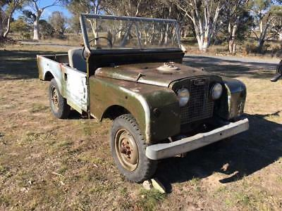Land Rover 1957 Series 1 Land Rover 88 inch 6 Cylinder