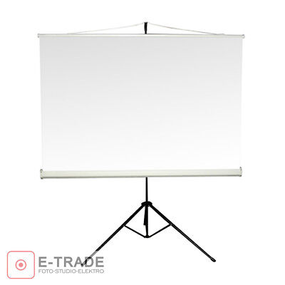 150 x 150cm Projection Screen + Tripod // for DLP/LCD Projector - 4:3 and 16:9