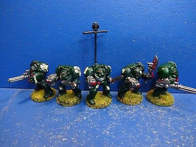 5 Terminatoren der Space Marines METALL 2