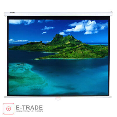 140 x 110 cm Wall Projection Screen for DLP/LCD Projector -  4:3 16:9