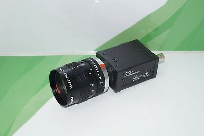 Sony XC-ST50CE CCD Video Camera Modul + Cosmicar Television Lens 50mm 1:1.8