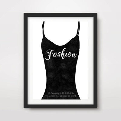 FASHION QUOTE SAYING ART PRINT POSTER Word Decor Wall Text Writing Calligraphy
