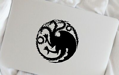 Game of Thrones House Targaryen Macbook Laptop Car Wall Vinyl Decal Sticker 80