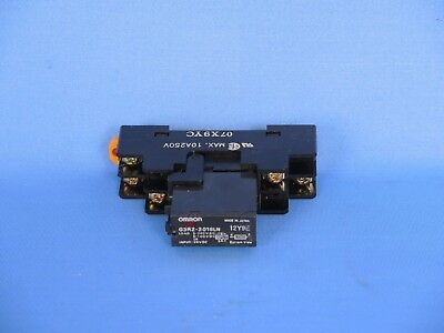 Omron G3RZ-201SLN solid state relay with base 24VDC