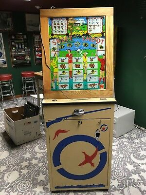 1957 Skeet Shoot Slot Machine or flash game by Games, Incorporated.