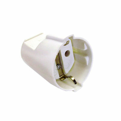 As Schwabe - Schuko Coupling White 1,5 mm ² Section Power Cable Plug Coupling