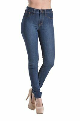 Womens Stretchy High Rise High Waist Denim Slim Skinny Stretch Jeans