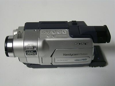 sony handycam vision video hi8 camcorder model ccd trv118 70 90 rh picclick com Sony Handycam Manually Eject Sony Handycam CCD Adapter