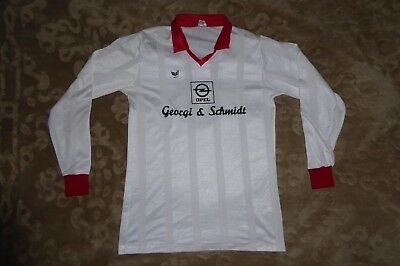 ERIMA VINTAGE SHIRT CAMISETA TRIKOT FOOTBALL 80's WEST GERMANY No.8 OPEL