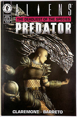 Aliens Predator The Deadliest of the Species 9 Dark Horse C Claremont E Barreto