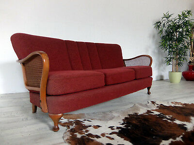 Elegantes großes Chippendale Sofa Couch