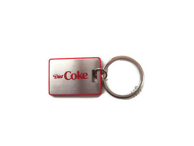 Diet Coke Stainless Keychain Key Tag - BRAND NEW
