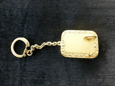 Vintage Swiss Reuge Minature Music Box Musical Key Chain, Bracelet (Watch Video)