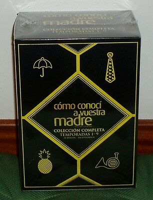 Como I Met On Your Madre-1-9 Seasons Completas-28 Dvd-New Sealed