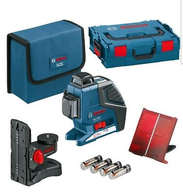 Bosch GLL3-80P 360-degree Three-Plane Leveling and Alignment-Line Laser