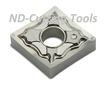 10 x Iso Norm Indexable Inserts Cnmg 120404 for Rotate Aluminium New and Top
