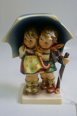 Vintage Hummel Stormy Weather Figurine HUM - 71 By Goebel TMK - 6