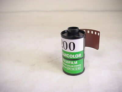 FUJICOLOR 200 35mm color print film, 5 rolls-24 exp.
