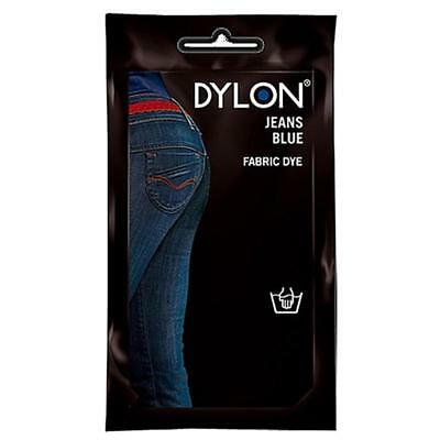 DYLON Permanant Fabric Dye Hand Dye - JEANS BLUE - 50 gram - Denim