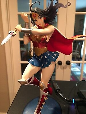 Kotobukiya DC Comics Armored Wonder Wonder Woman Bishoujo PVC Statue Figure used