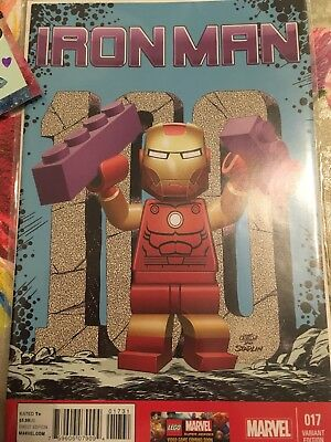 Iron Man #17 Lego Variant Cover