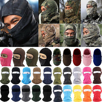 Outdoor Full Face Mask Motorcycle Cycling Balaclava Neck Warmer Ski Cover Hat