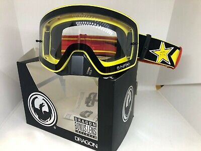 DRAGON NFXS ROCKSTAR Red Ionized AFT Lens MX Goggles **NEW** Motocross ATV