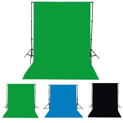 Photo Photography Background Cotton Chromakey GreenScreen Muslin Backdrop 1.5x1M