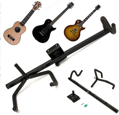 A Set Of Horizontal Electric Guitar Hanger Hook Holder Wall Mount Guitar Display