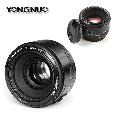 Yongnuo YN 50mm F/1.8 EF Auto/Manual Focus Fixed Lens for Canon EOS Rebel Camera