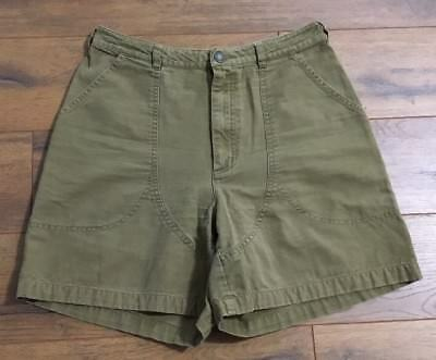 """Women's PATAGONIA STAND UP SHORTS Vintage Hiking Camping Tag Size 14 30x5.5"""" GUC"""