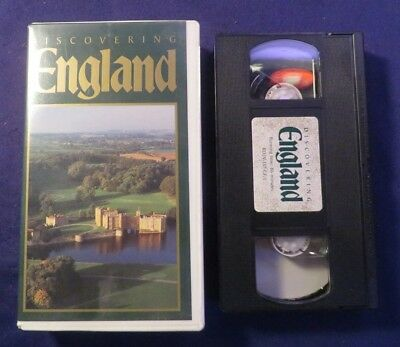 1989 DISCOVERING ENGLAND  VHS Cassette Tape