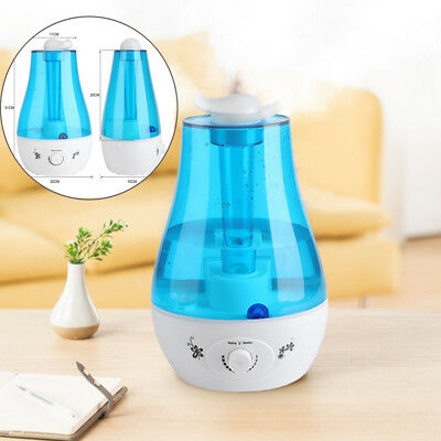 Luftbefeuchter Aroma Diffuser Ultraschall Aromatherapie Duftlampe 3L LED L-T DTO
