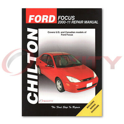 ford focus chilton repair manual ses ztw lx zts zx4 st zx5 s2 zxw rh picclick com 2000 Ford Focus 2.0 Engine 2000 Ford Focus Parts Diagram