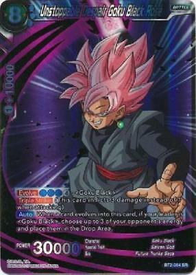 Unstoppable Despair Goku Black Rose BT2-54 SR Union Force Dragon Ball Super TCG