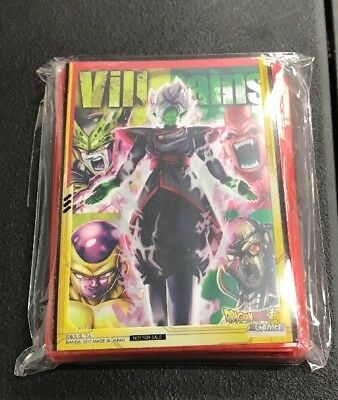 1x Sealed Union Force Villains Winner Sleeves Dragon Ball Super FREE SHIP!