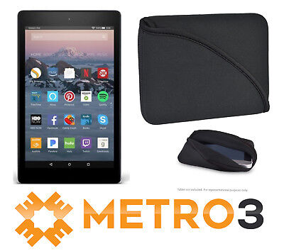 Amazon Kindle Fire 7 Tablet 8GB 2017 w Alexa 7th Gen + FlipIt Neoprene Case