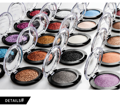 Shining Eyeshadow Palette Ultra Pigmented Mineral Pressed Cream Glitter Make Up