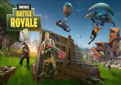 FORTNITE ft1 A4/A3 POSTER WALL ART