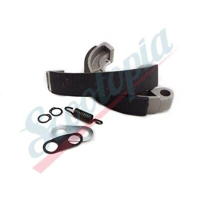 Scootopia Lambretta LI/SX/TV Front Or Rear Brake Shoe & Fixing Set - I13.4