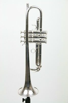 Trumpet Kanstul CCT900 silver plated in excellent condition